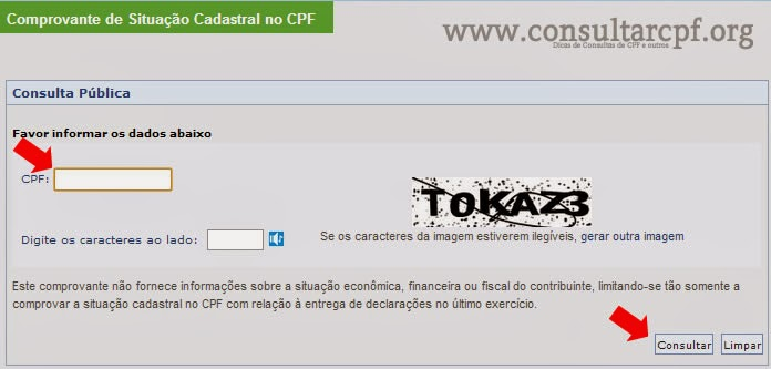 CPF grátis na internet  Consultar CPF  Consulta CPF Grátis