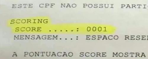 Score Serasa